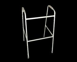 Andador de acero fijo pintado JOTAVE. Construido en caño de 7 8